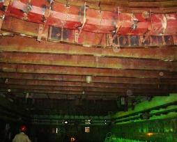 闪速炉吊挂梁铜水套现场安装照片