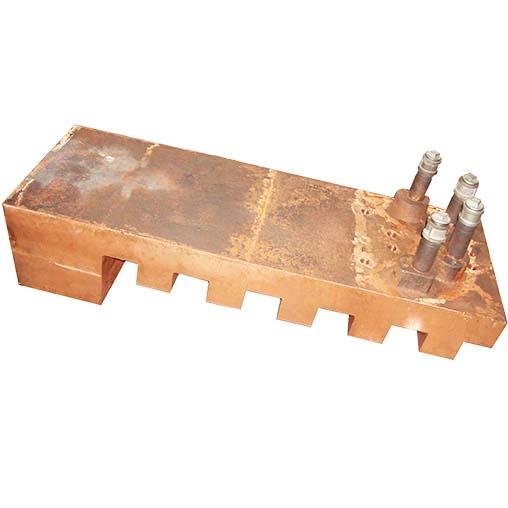 镍闪速炉锯齿型铜水套