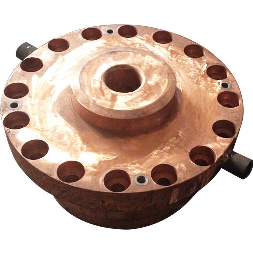 煤气化炉下渣口铜水套
