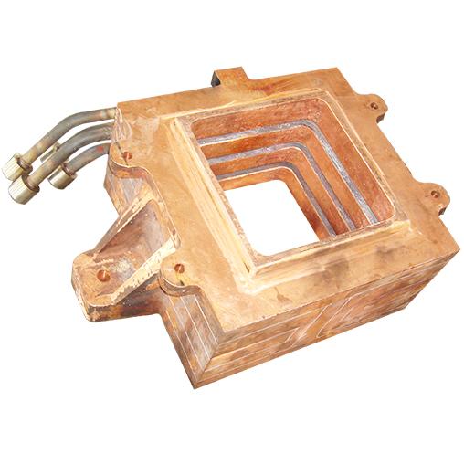 铂金矿热炉铜水套