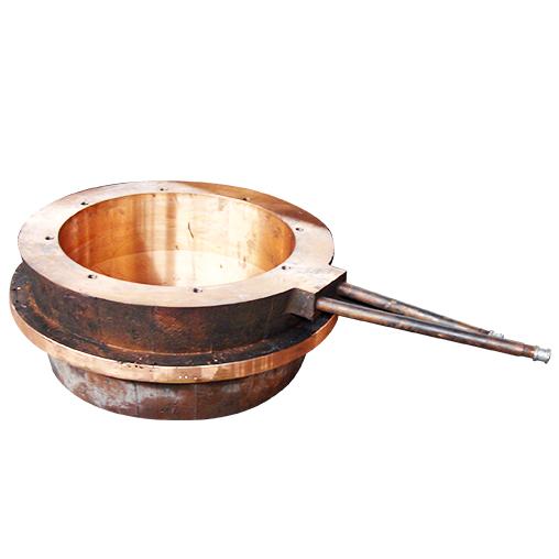 基夫赛特炉反应塔顶辅助烧嘴铜水套