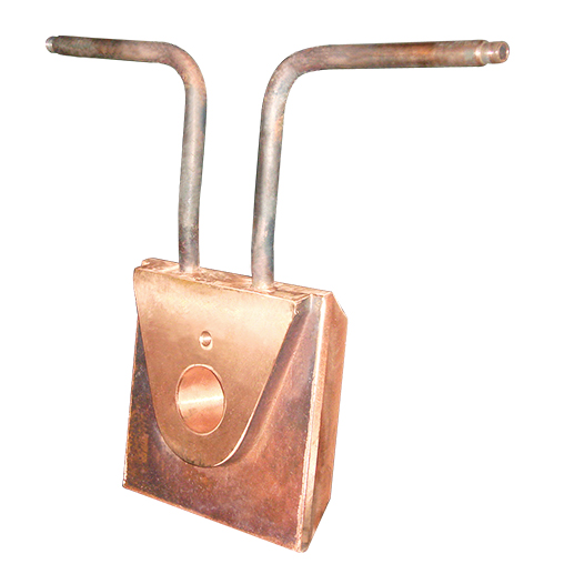闪速吹炼炉放铜口铜水套