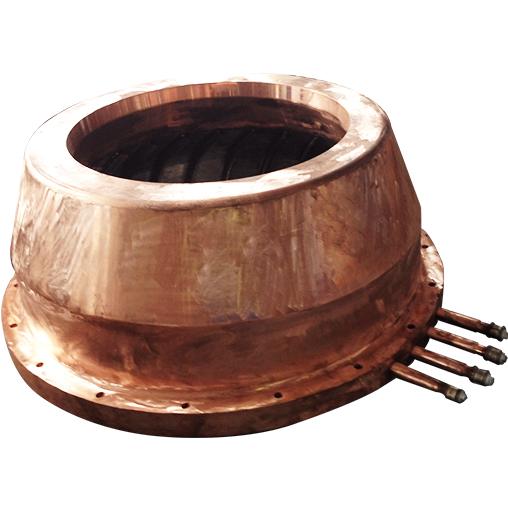 闪速炉金矿喷嘴铜水套