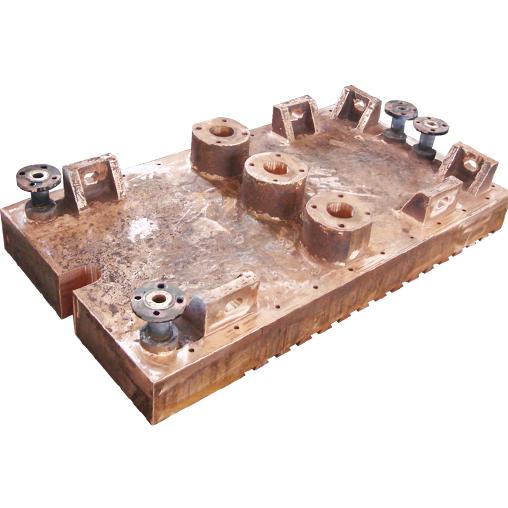 烟化炉铜水套