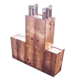 圆形镍铁电炉平水套