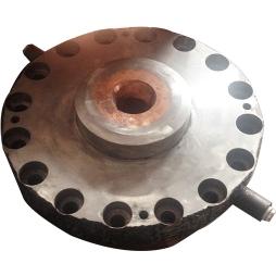 煤气化炉整体堆焊耐磨合金下渣口铜水套