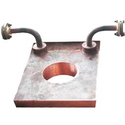 奥斯麦特炉放渣口铜水