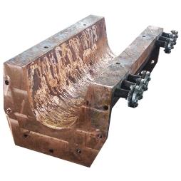 侧吹炉溜槽