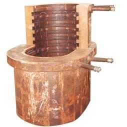 侧吹炉桶形溜槽
