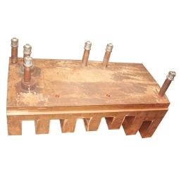 钒钛电炉齿形铜水套