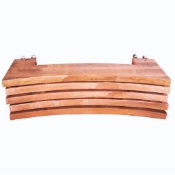 富氧顶吹镍熔炼炉铜水套