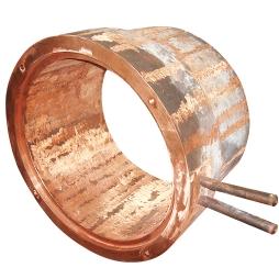 基夫赛特炉去烟化炉渣口铜水套