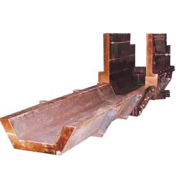 铸渣机溜槽