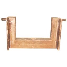 倾铜动炉加料门铜水套