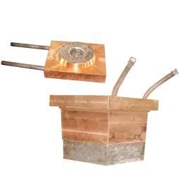 闪速吹炼炉堆焊耐磨、耐热合金放渣、放铜口大小铜水套