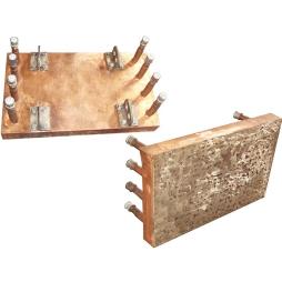 闪速吹炼炉堆焊耐磨、耐热合金铜水套