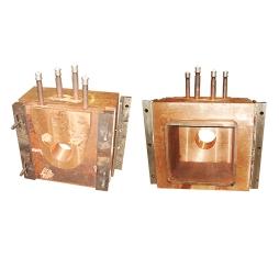 闪速吹炼炉放铜口(内部镶嵌耐热不锈钢)组合式铸铜水套
