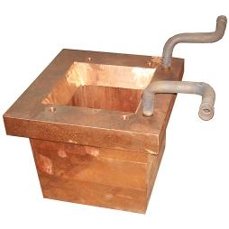 闪速炉放铜口大水套