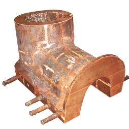 闪速炉桶形尾部溜槽