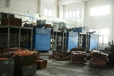 3吨中频熔炼炉