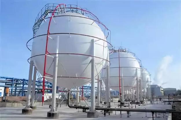 金川化工新材料公司30万吨PVC氯乙烯球罐