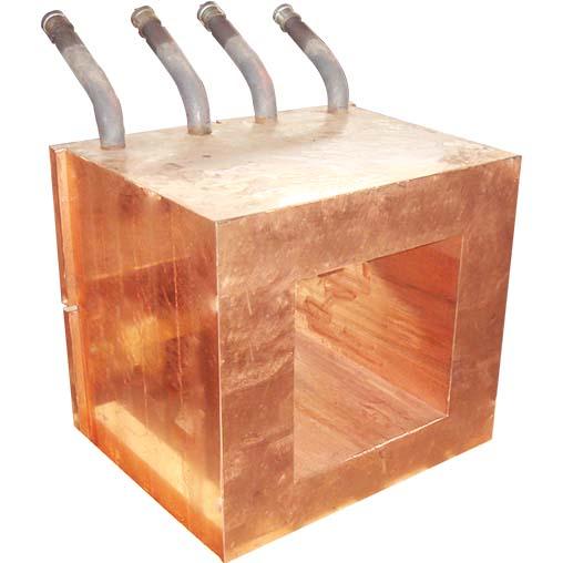 圆形镍铁电炉放铁、放渣口铜水套