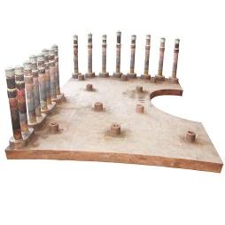 沙钢5800m3高炉铁口用铸铜冷却壁