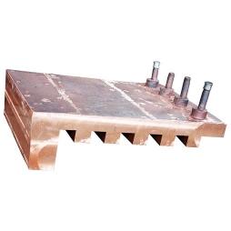 镍闪速炉锯齿型铜水套1