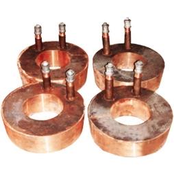 矩形镍铁电炉放铁、放渣口铜水套