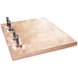 矩形镍铁电炉立面铜水套1