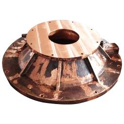 煤气化炉下膛铜水套3