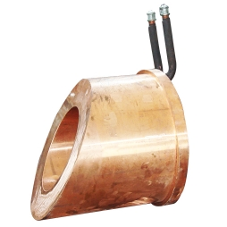 Rotary Blowing furnace check mouth copper water jacket